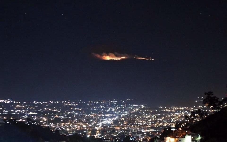Incendio en el Nevado de Toluca afecta a zonas de pastizales (Twitter @anaya_delatorre)