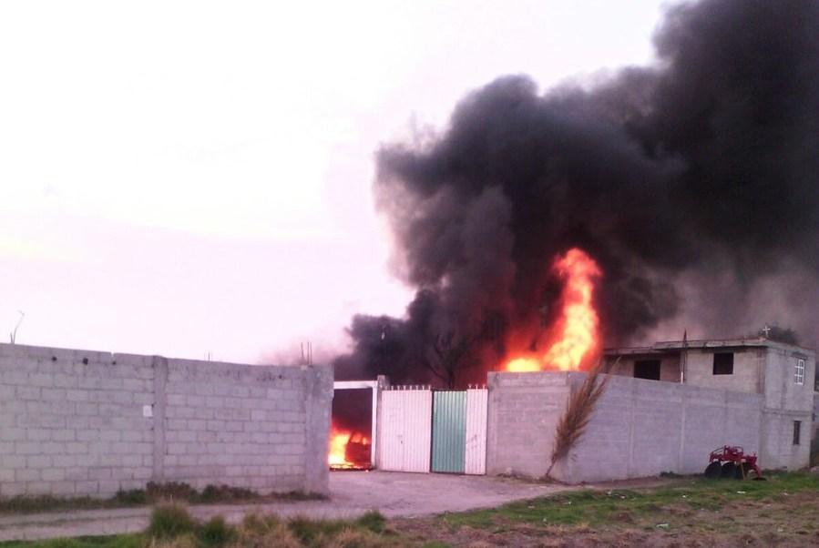 Se desconocen las causas que originaron el fuego. (Twitter: @PC_Estatal)