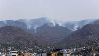 El incendio más reciente duró cinco días y afectó más de 100 hectáreas de esta reserva natural protegida (Twiiter/@enfoqueinforma)