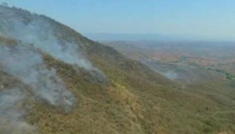 De acuerdo con cifras oficiales, los incendios forestales consumieron un total de nueve mil hectáreas en Chiapas en 2016 (Noticieros Televisa/Archivo)