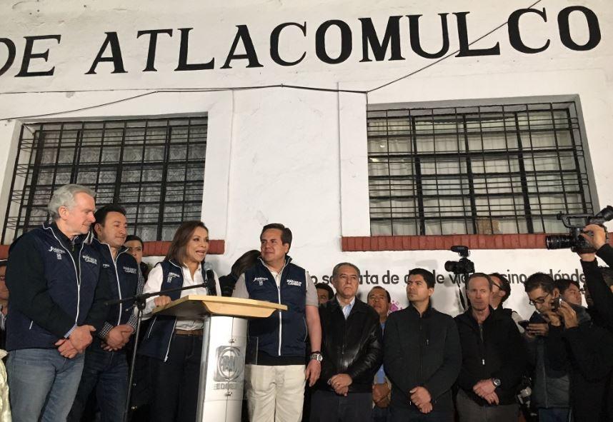 Inicia campaña de Josefina Vázquez Mota en el Estado de México (Twitter @JosefinaVM)