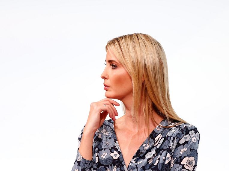 """La hija de la Presidenta de los Estados Unidos, Ivanka Trump, asiste a la Cumbre del W20 bajo el lema """"Inspirando a las mujeres"""" en Berlín, Alemania (Reuters)"""