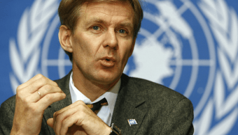 Jan Egeland, responsable de la asistencia humanitaria de la ONU en Siria. (AP, archivo)