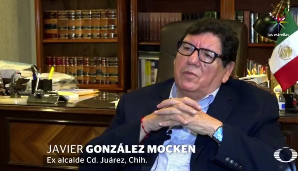 Javier González Mocken, exalcalde de Ciudad Juárez, Chihuahua. (Noticieros Televisa)