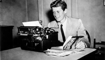John F. Kennedy escribió el diario en 1945. (rrauction.com)