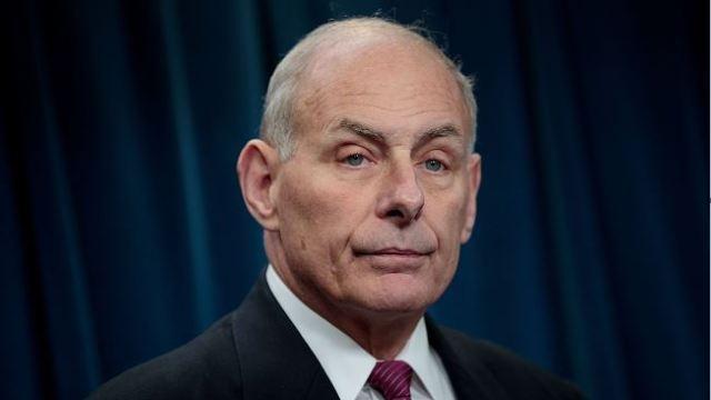 Secretario de Seguridad Nacional, John Kelly, estados unidos