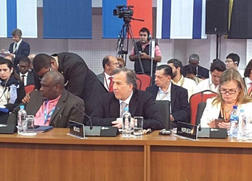 José Antonio Meade concluye actividades en Paraguay
