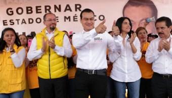 Juan Zepeda, candidato del PRD al gobierno del Estado de México. (Notimex)