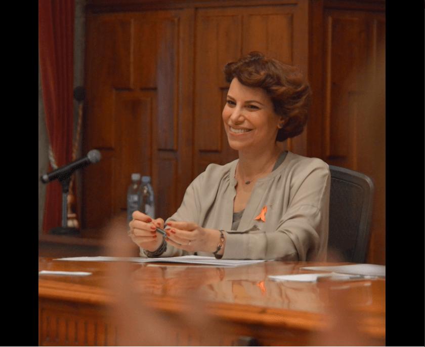 Karime Macías, esposa de Javier Duarte. (@KarimeMacias)