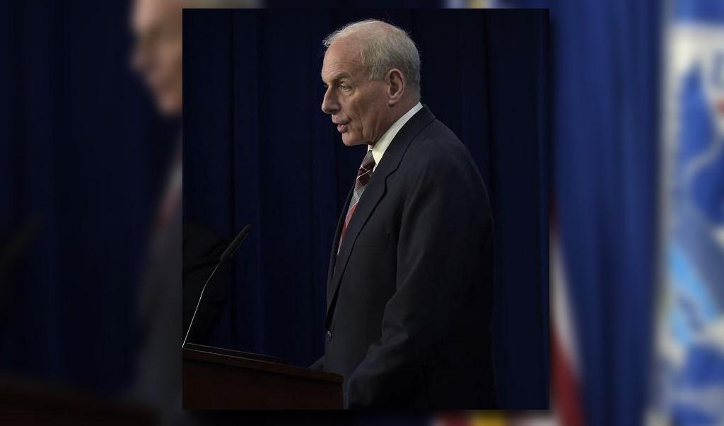 El secretario de Seguridad Nacional, John Kelly, anunció la apertura de la nueva oficina de Víctimas de Inmigración y Delincuencia. (AP)