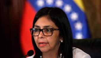 La canciller Delcy Rodríguez anunció que Venezuela pretende retirarse de la OEA.