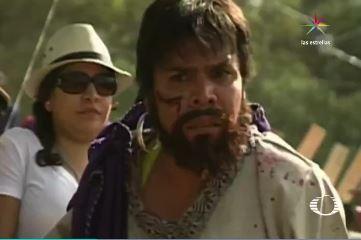 Francisco Ledezma forma parte del comité organizador y como los otros 200 actores, paga los gastos de su personaje (Noticieros Televisa)