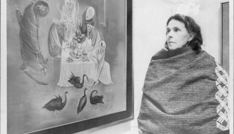 Leonora Carrington (Getty Images, 1975)