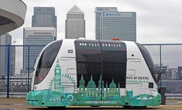 Autoridades de Londres esperan que en 2019 los autobuses autónomos circulen en las calles (Foto: standard.co.uk)