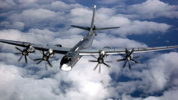 Los dos bombarderos rusos Tu-95 fueron detectados por los radares de Estados Unidos cerca de las costas de Alaska.