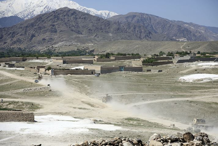 Estados Unidos lanzó la madre de todas las bombas contra Afganistán. (AP)