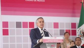 Miguel Ángel Mancera, jefe de gobierno de la Ciudad de México. (Twitter: @ManceraMiguelMX)