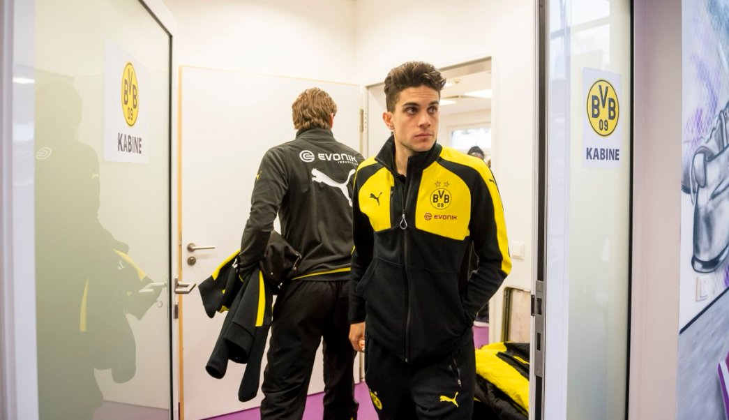 Marc Bartra, defensa español del Borussia Dortmund.