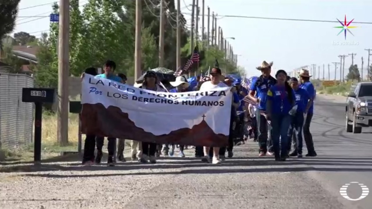 En El Paso, Texas, viven al menos 50 mil indocumentados mexicanos. (Noticieros Televisa)