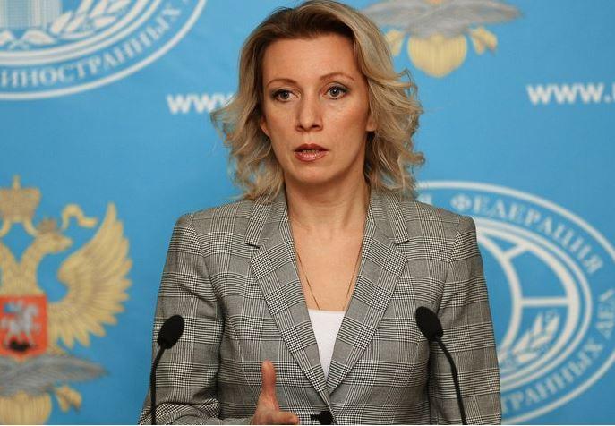 Fotografía de la portavoz del Ministerio de Asuntos Exteriores ruso, María Zajárova. (@PonGlobovision)