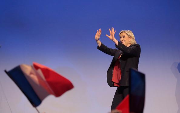 Los mercados temen una victoria de la candidata de extrema derecha Marine Le Pen, que defiende la salida del euro y de la Unión Europea. (Getty Images)