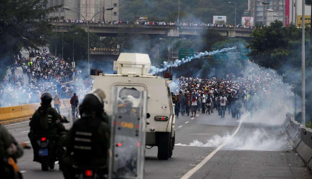 Millones de venezolanos han salido a las calles del país para protestar contra el presidente Nicolás Maduro.
