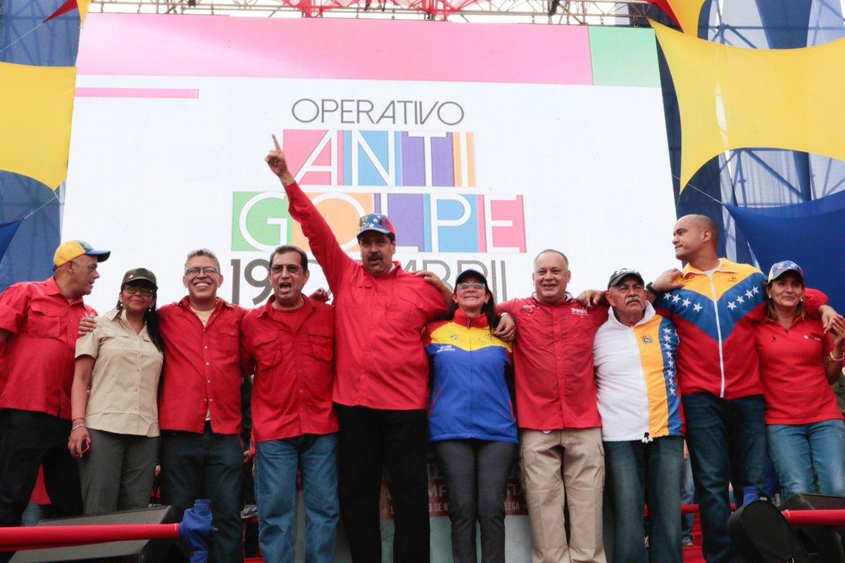 Maduro anuncia más de 30 detenidos en protestas opositoras en Venezuela