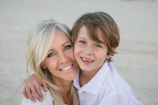 madre soltera, cancer, niño