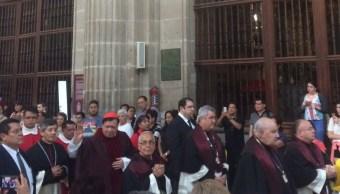 Cardenal Norberto Rivera Carrera. (Twitter: @IrvingPineda)
