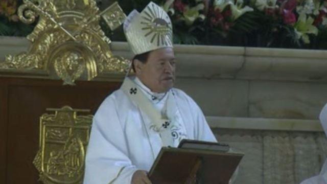 El cardenal Norberto Rivera condena la violencia que se vive en México. (Noticieros Televisa)