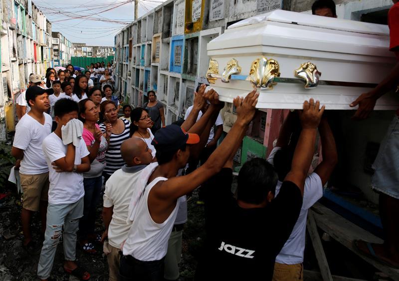 Nueva fase de la guerra antidroga en Filipinas supera los 100 muertos en un mes. (EFE)
