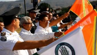 En el marco del operativo Semana Santa, se instalaron retenes policiacos en casetas de cobro y salidas de las principales ciudades del estado. (Twitter @sspc_chiapas)