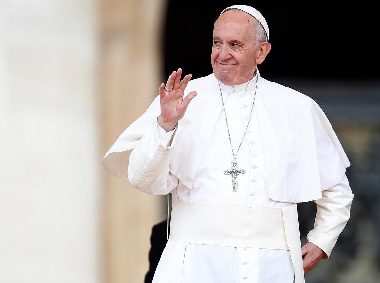 El papa Francisco durante una audiencia en el Vaticano (Reuters)