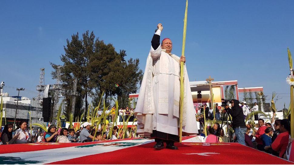 Inicia representación de la Pasión de Cristo en Iztapalapa