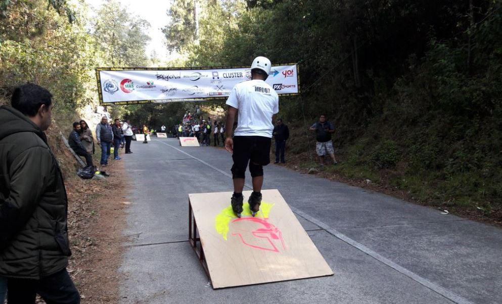 Cerca de 100 competidores de México y Perú, participaron en esta prueba realizada en el Parque Nacional Desierto de Los Leones (Twitter/@CuajimalpaPDYTS)