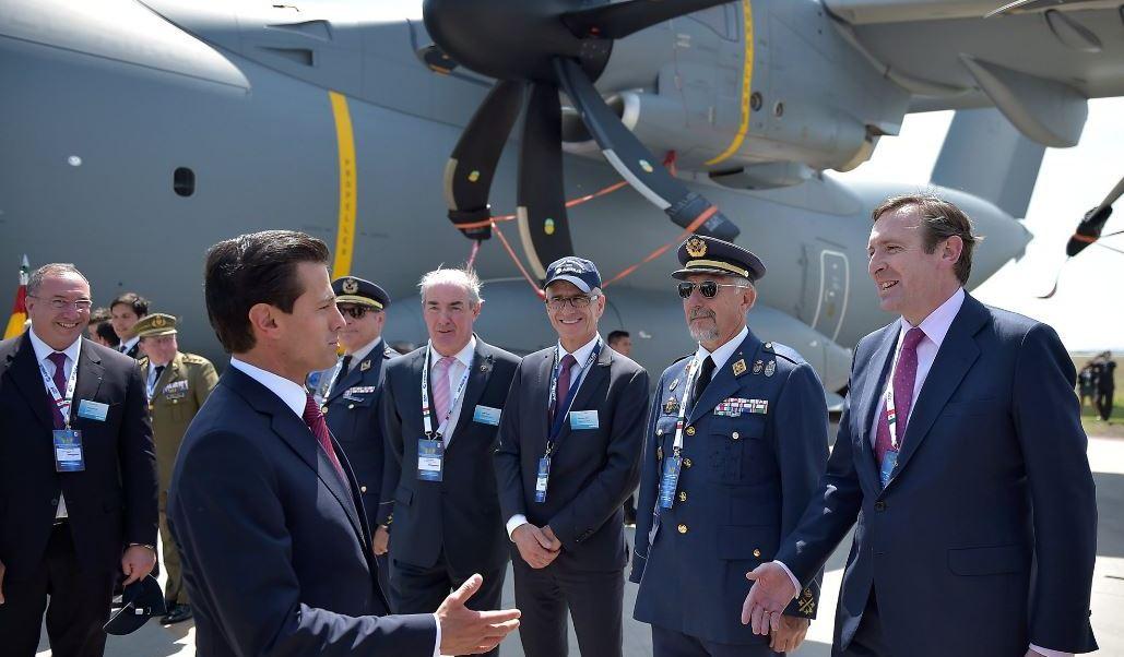 México es el sexto proveedor de partes aeronáuticas a Estados Unidos y el lugar 14 a nivel mundial (Twitter/@PresidenciaMX)