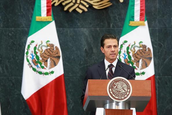 El presidente Peña Nieto mandó su solidaridad a las víctimas (Getty Images)