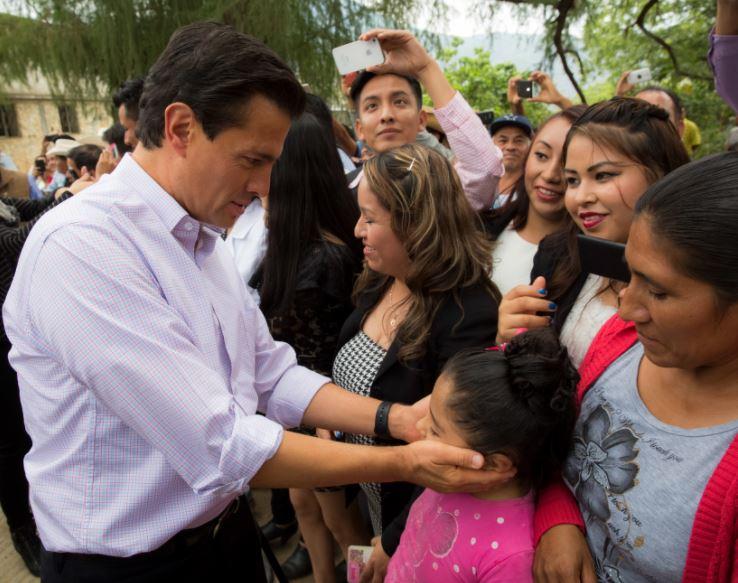 Peña Nieto dijo que los niños son el presente y futuro de México (Presidencia de la República)
