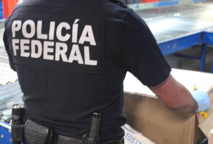 El paquete, que de acuerdo con la guía de carga arrojó un peso de un kilogramo, tenía como remitente un domicilio ubicado en Guadalajara (Twitter/@PoliciaFedMx/Archivo)