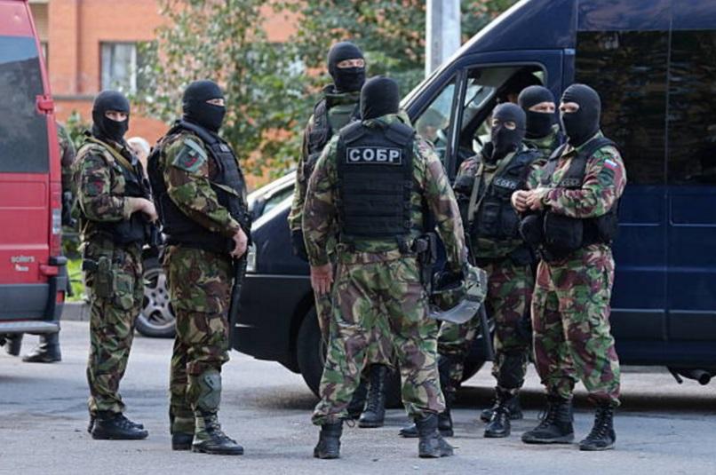 Personal del FSB realiza un operativo antiterrorista al oeste de Rusia (Getty Images/archivo)