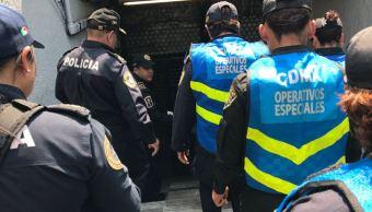 Más de 600 policías metropolitanos refuerzan la seguridad en todas las estaciones del Metro. (@SSP_CDMX