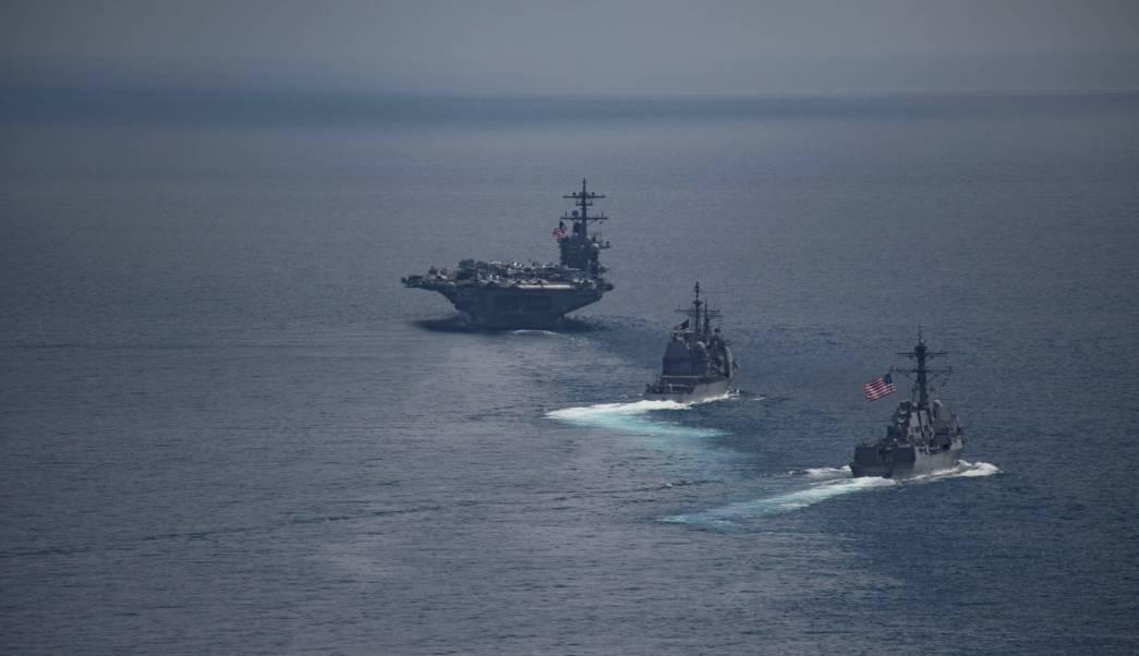 El portaaviones estadounidense Carl Vinson (CVN 70) (Reuters/Archivo)
