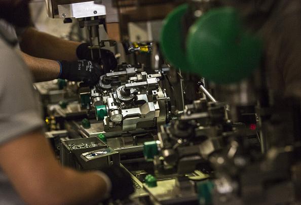 La producción manufacturera en Estados Unidos bajó 0.4% en marzo, de acuerdo con el reporte de la Reserva Federal. (Getty Images)