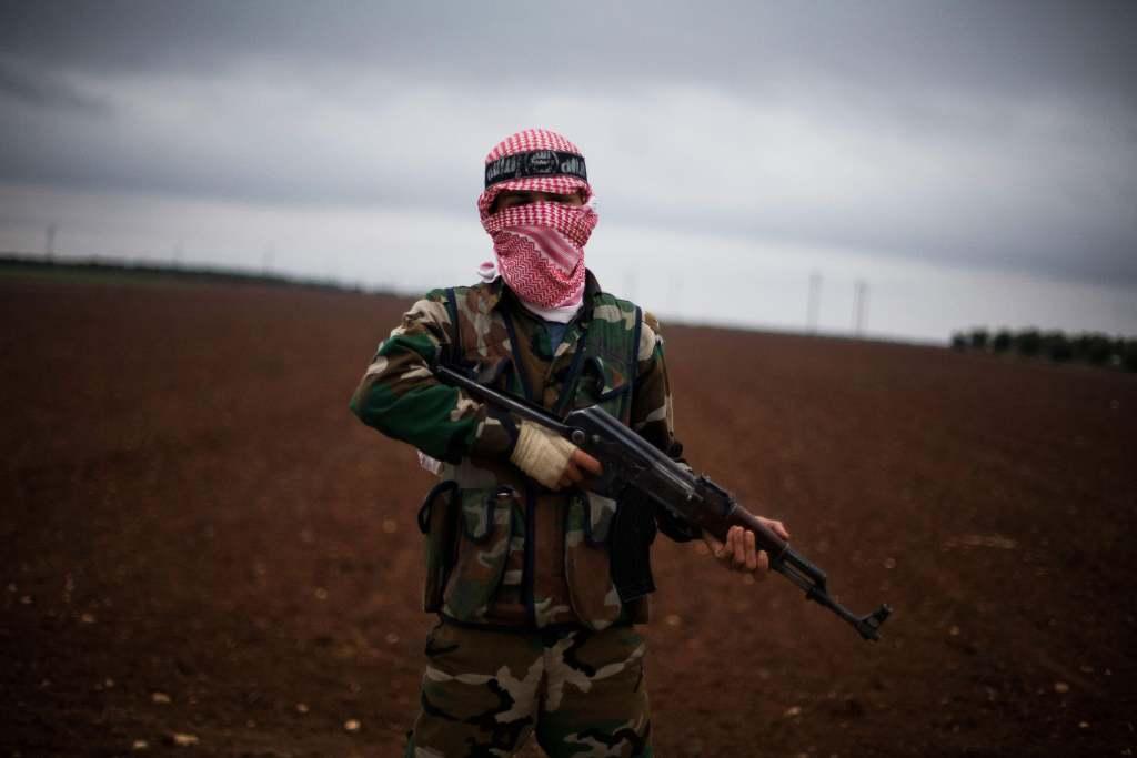 Rebelde del Ejército Libre Sirio.