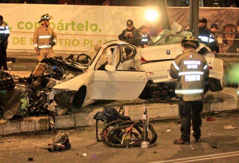 Trasladan al Reclusorio Sur a conductor de accidente de Paseo de la ...