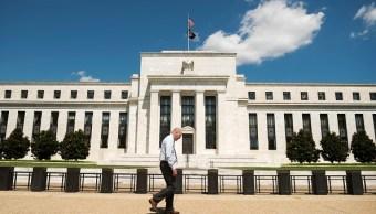 Fachada de la sede de la Reserva Federal