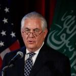 Rex Tillerson, secretario de Estado de Estados Unidos.