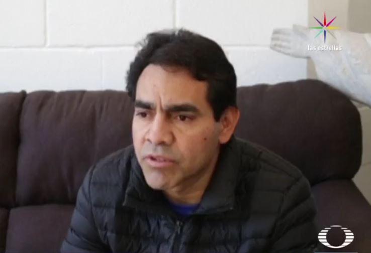 Roberto Beristain, mexicano deportado desde Estados Unidos (Noticieros Televisa)