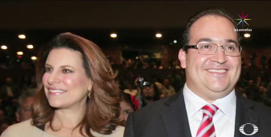 Ruta de escape de Javier Duarte. El exgobernador y su esposa Karime Macías huyen juntos a Guatemala. (Noticieros Televisa)