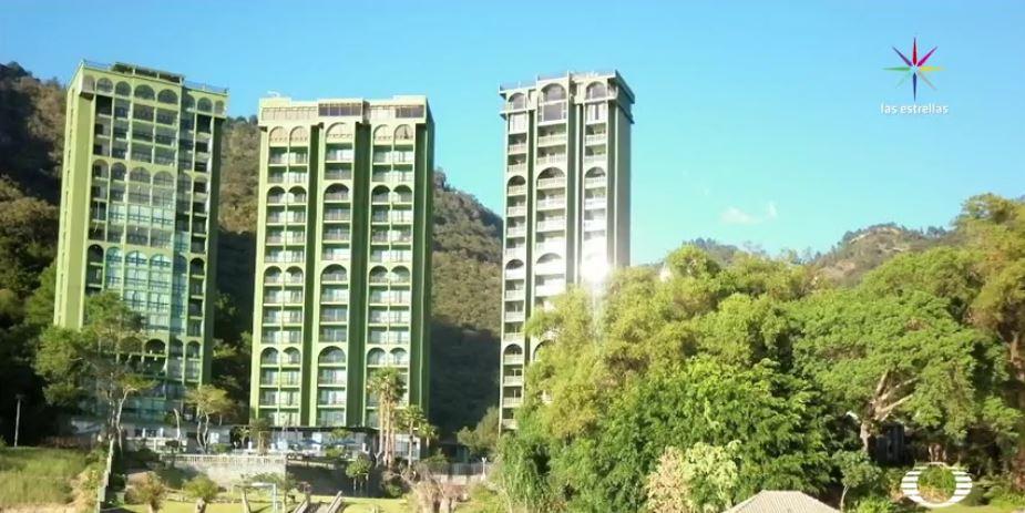 Ruta de escape de Javier Duarte, hotel en Panajachel. (Noticieros Televisa)